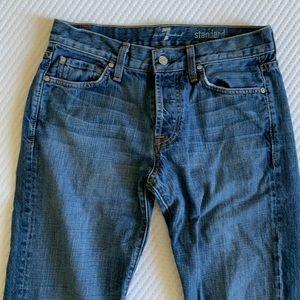 7FAM standard jeans
